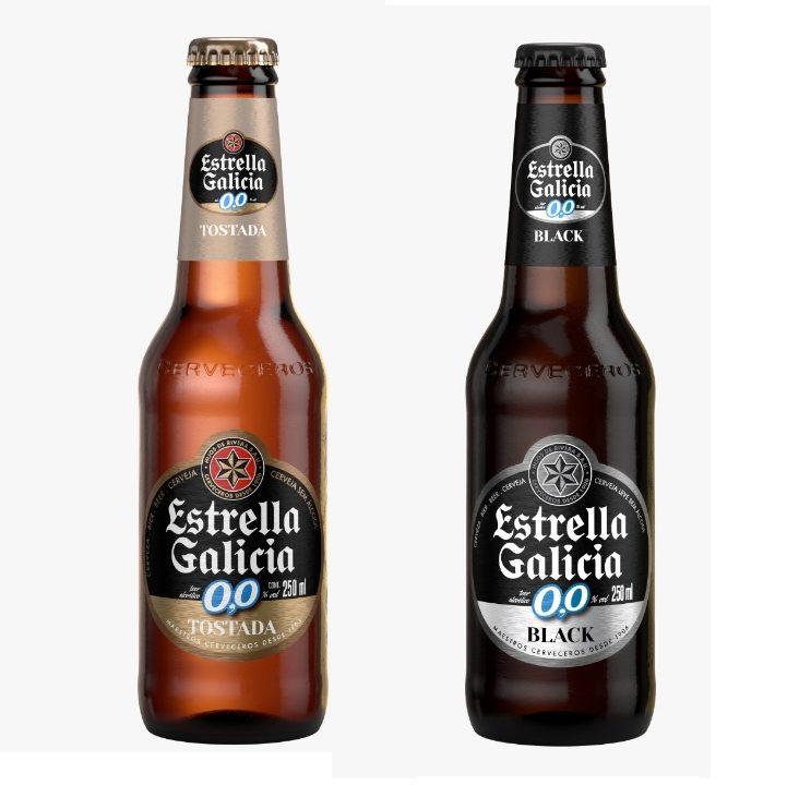 Estrella Galicia traz ao Brasil duas novas cervejas sem álcool