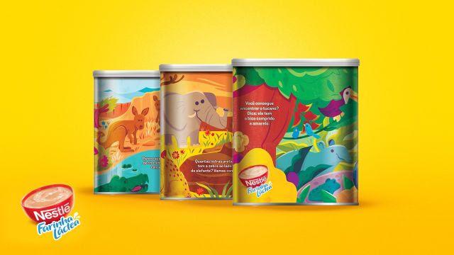 Farinha Láctea Nestlé apresenta latas colecionáveis