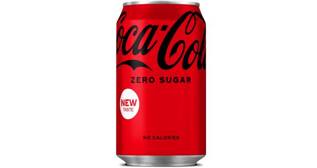 Latas de Coca-Cola Zero são renovadas na Europa