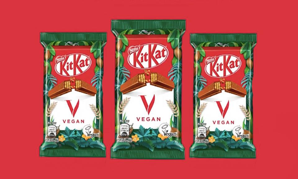 Nestlé cria KitKat vegano