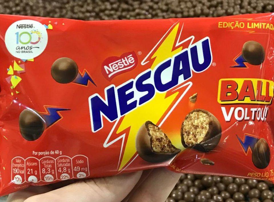 Nestlé relança Nescau Ball em edição limitada