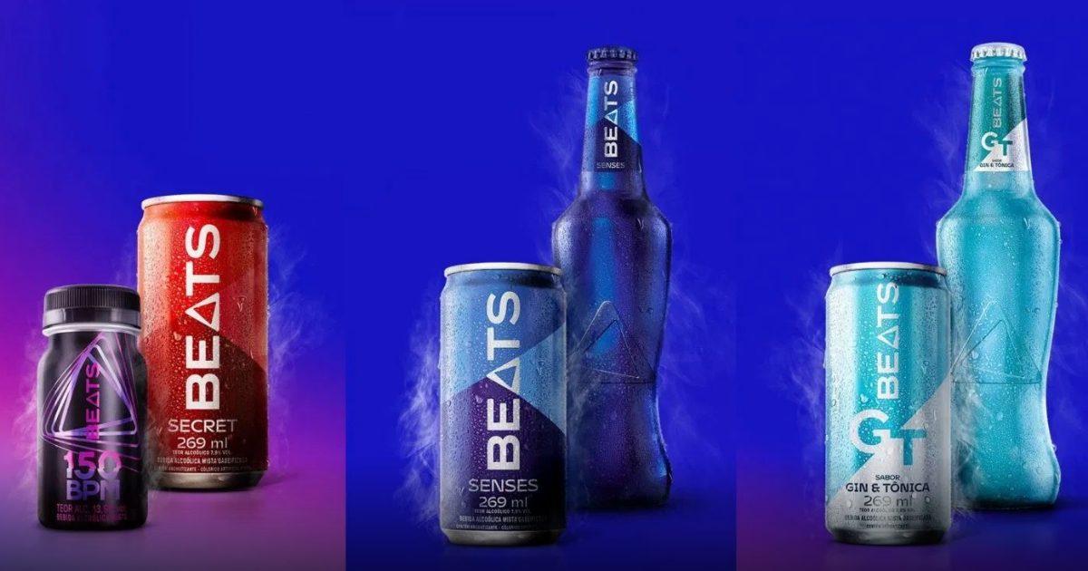 Skol Beats agora é só Beats e tem novas embalagens