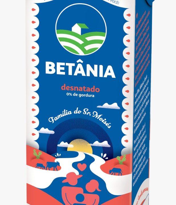 Betânia homenageia produtores de leite nas embalagens