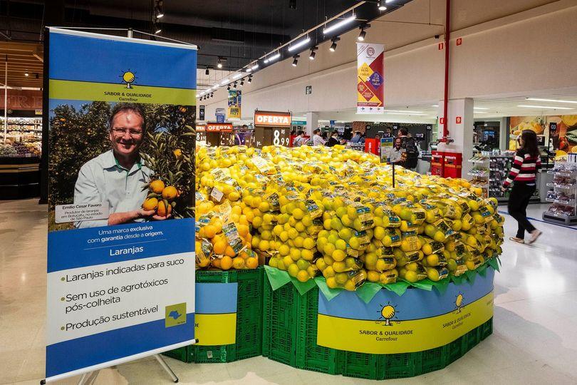 Carrefour implanta sistema de rastreabilidade de frutas
