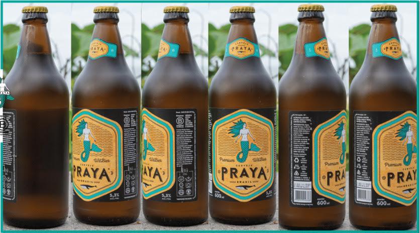 Com proposta sustentável, cerveja Praya elimina o contrarrótulo