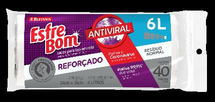 EsfreBom lança saco de lixo antiviral
