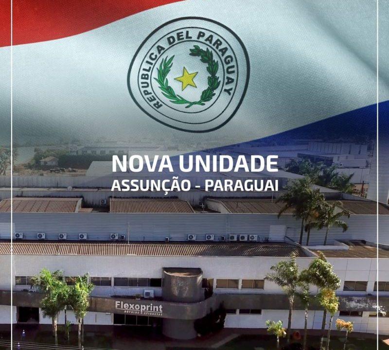 Flexoprint inaugura planta no Paraguai