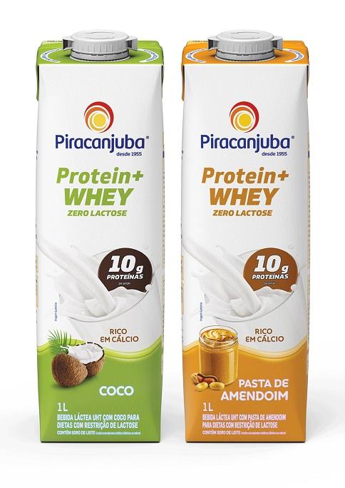 Protein + Whey da Piracanjuba tem formato de embalagem inédito no Brasil