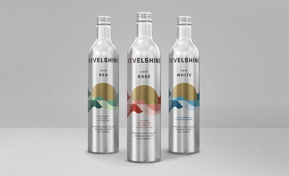 Vinícola californiana aposta em garrafas de alumínio