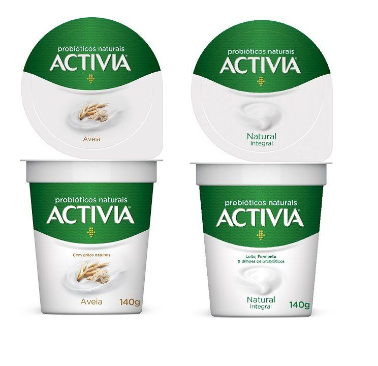 Activia lança iogurtes naturais com probióticos