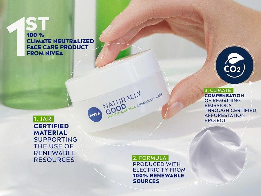 Beiersdorf desenvolve embalagem de plástico renovável certificado