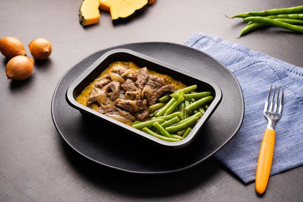 Liv Up comercializa linha de pratos caseiros em porção individual