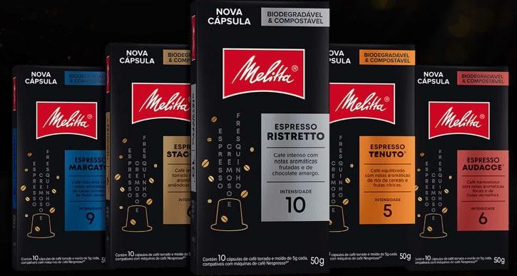 Melitta apresenta novas cápsulas biodegradáveis e compostáveis