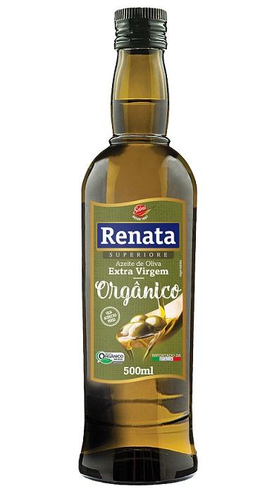 Renata lança azeite extra virgem orgânico