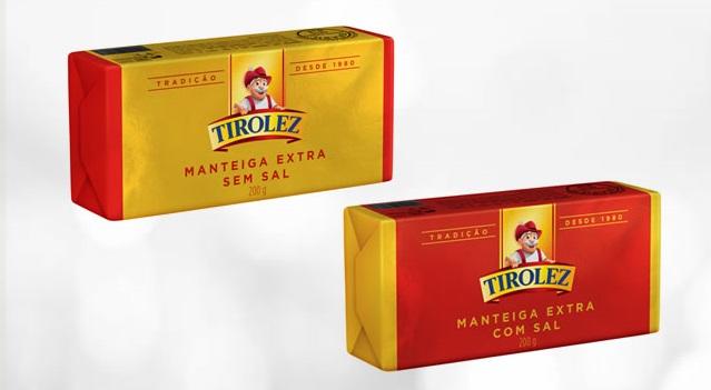 Tirolez agora tem manteigas em tabletes