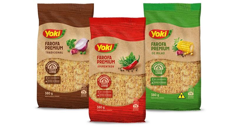 Yoki amplia portfólio com farofas premium
