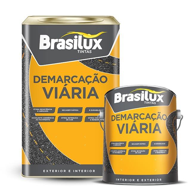 Brasilux Tintas lança Demarcação Viária com nova embalagem