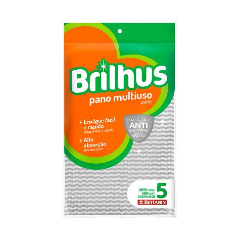 Brilhus apresenta novos panos multiuso