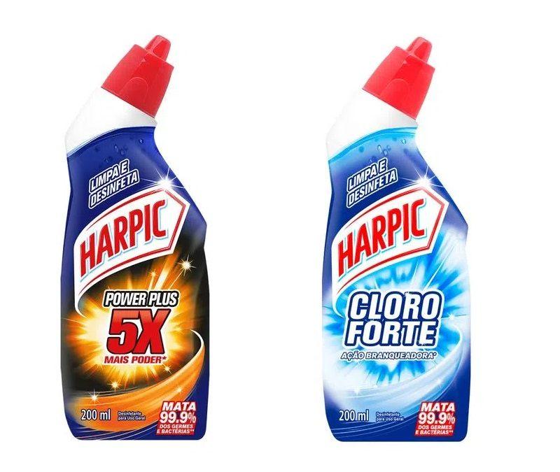 Com nova identidade visual, Harpic apresenta embalagens de 200ml