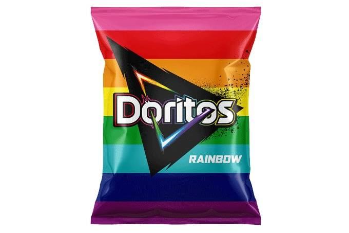Doritos Rainbow muda embalagem e direciona verba à causa LGBTI+