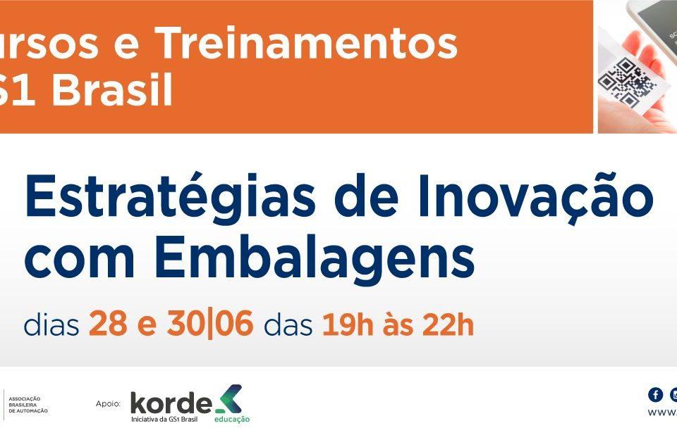GS1 Brasil realiza curso Estratégias de Inovação com Embalagens