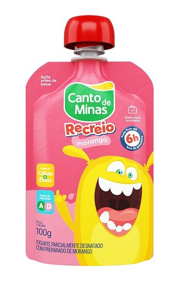Iogurte infantil tem embalagem prática com joguinho e dicas educativas