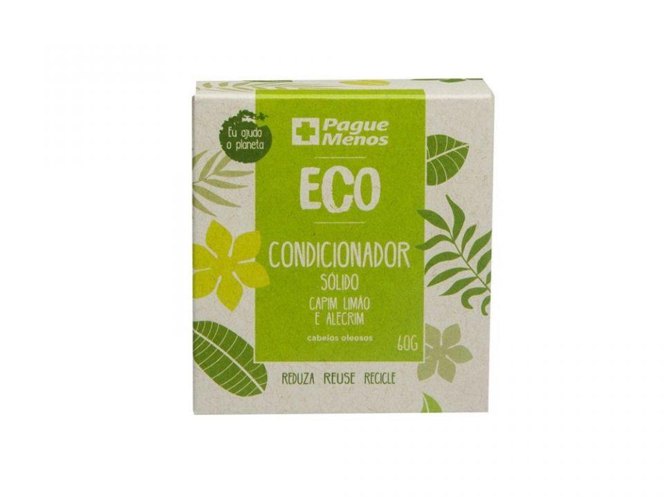 Pague Menos lança linha de xampus e condicionadores sólidos Eco