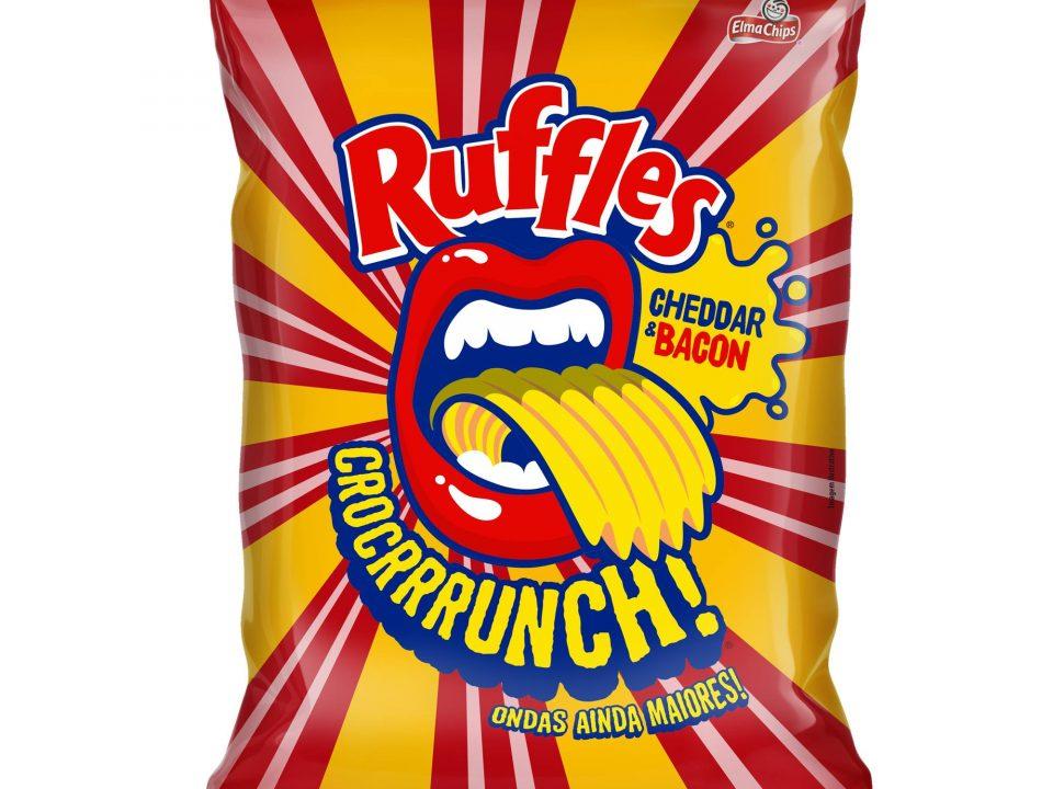 Ruffles ganha sabor cheddar e bacon