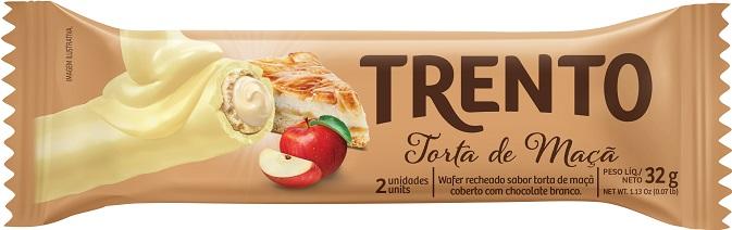 Trento amplia o portfólio com sabor Torta de Maçã