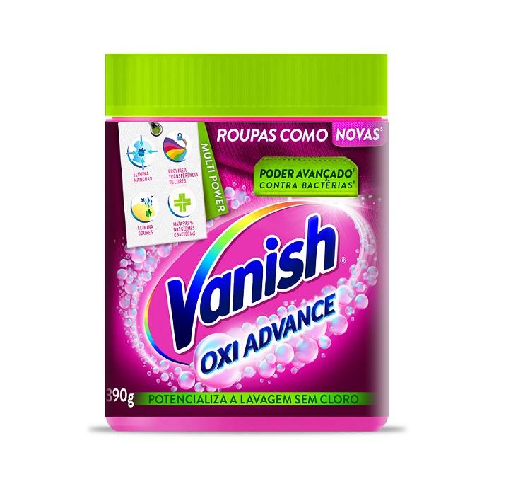 Vanish apresenta nova identidade visual da marca e linha de produtos Multi Power