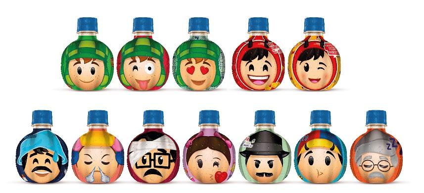 Alegria Fruit traz coleção Chaves em suas embalagens