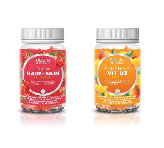 Desin Gummy é a novidade da Desin Nutrition