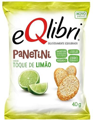 eQlibri expande linha de snacks com Panetini sabor Toque de Limão