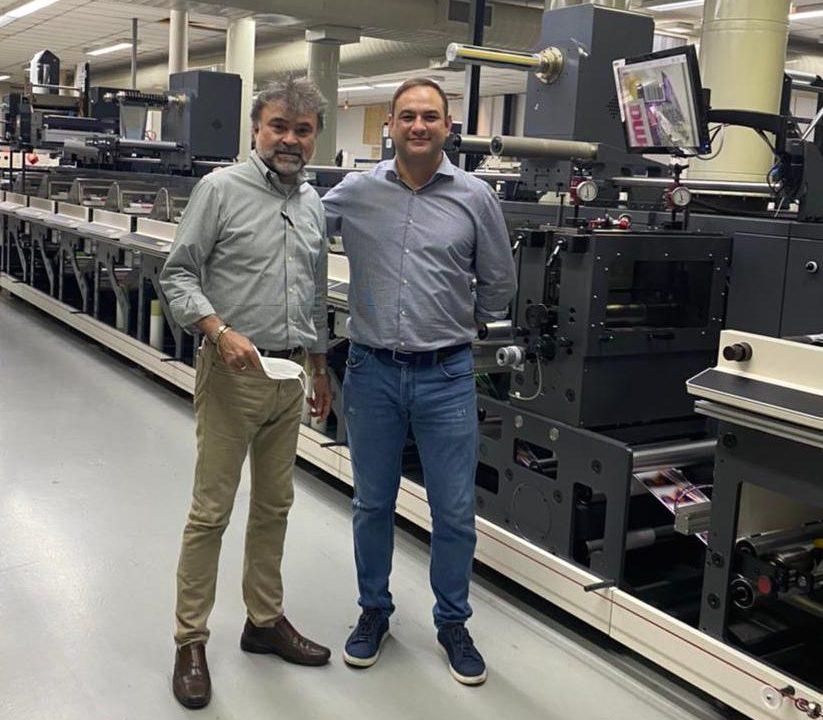 Grif instala duas novas impressoras flexográficas Nilpeter