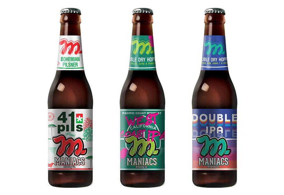 Maniacs lança três cervejas em edição limitada