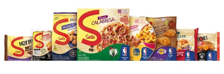 Sadia apresenta edição especial de embalagens com temática NBA