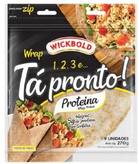 Wickbold lança wrap de proteína com whey protein na formulação