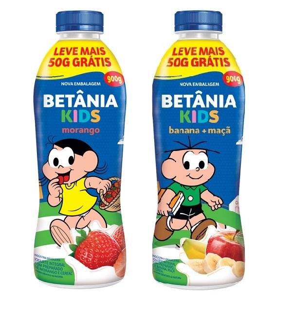 Betânia Kids traz embalagens econômicas estampadas com a Turma da Mônica