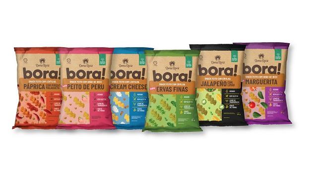 Dona Raiz apresenta os snacks saudáveis Bora!