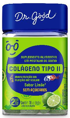 Dr. Good apresenta goma enriquecida com colágeno tipo II