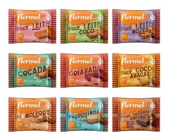 Flormel renova design das embalagens