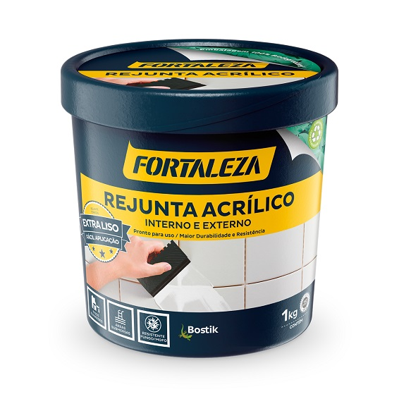Fortaleza adota embalagem biodegradável para rejunte acrílico