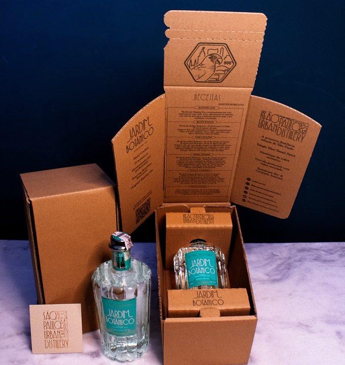 Jardim Botânico Gin desenvolve embalagem sustentável com experiência de unboxing