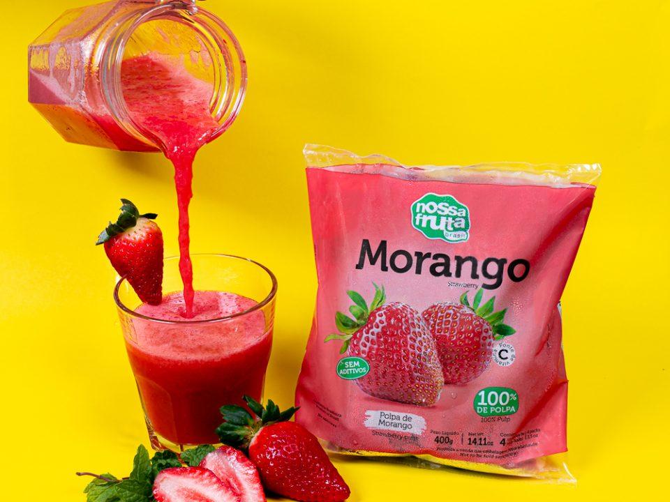 Nossa Fruta lança embalagem de polpas 400g com foco na praticidade