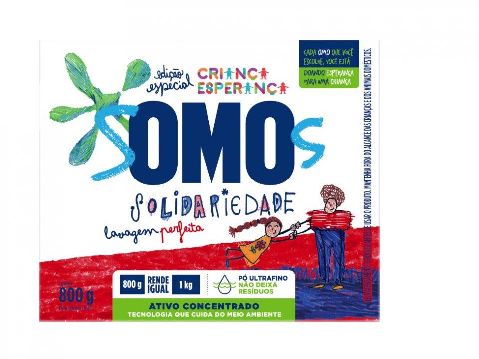 Omo lança embalagem especial em parceria com o Criança Esperança