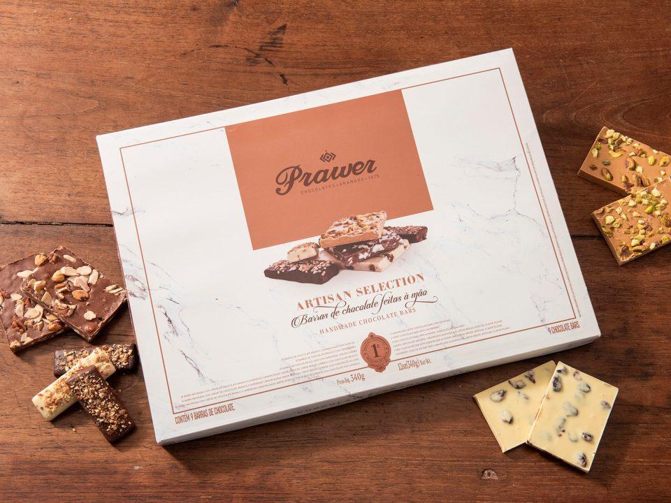 Prawer lança edição especial de chocolates feitos à mão