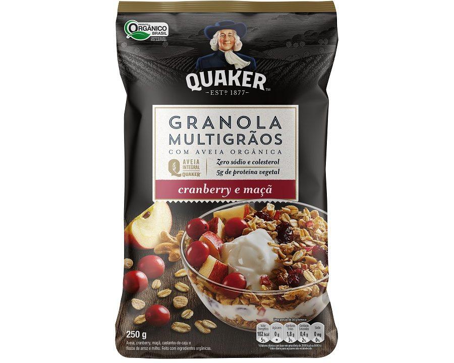 Quaker lança linha Multigrãos