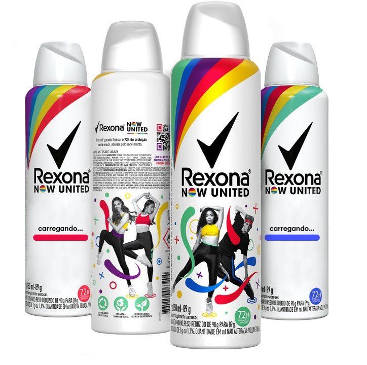 Rexona Now United lança edição colecionável com os integrantes do grupo