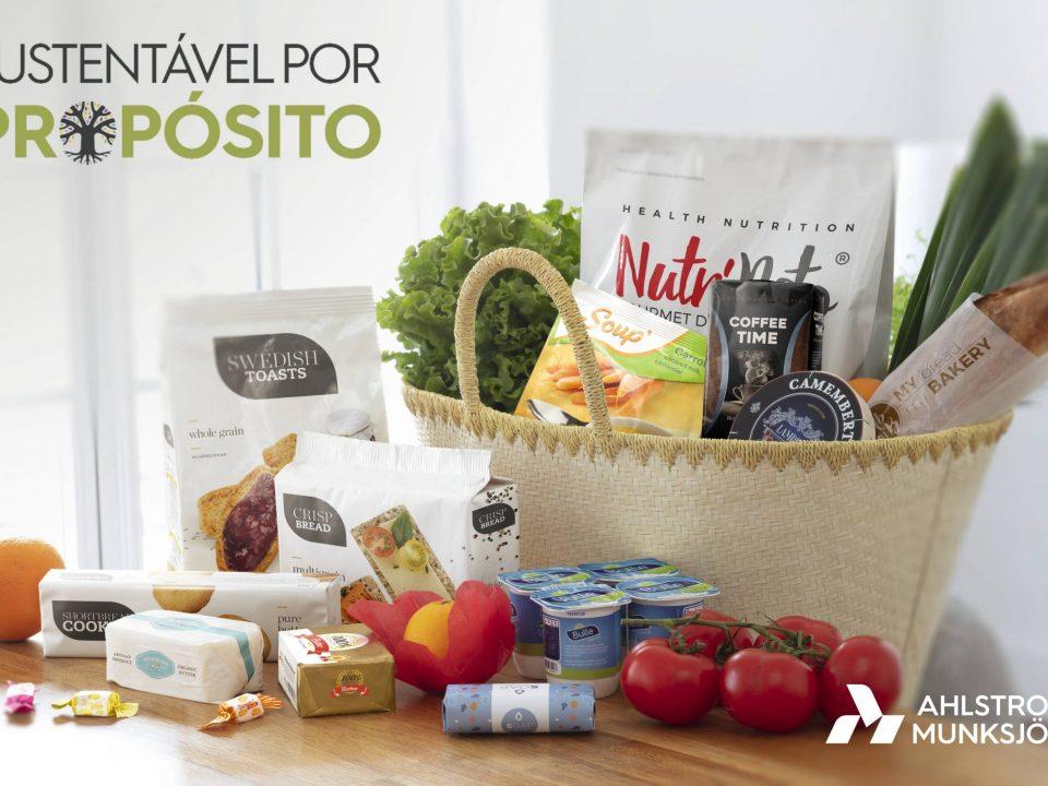 Soluções de papel para embalagens flexíveis de alimentos